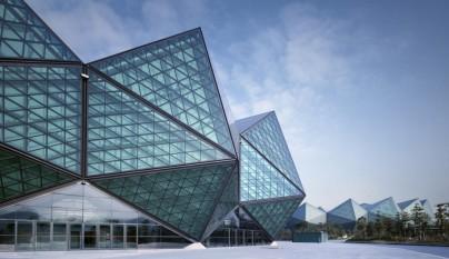 Universiade sports center por gmp architects for Aquatic sport center jardin balbuena