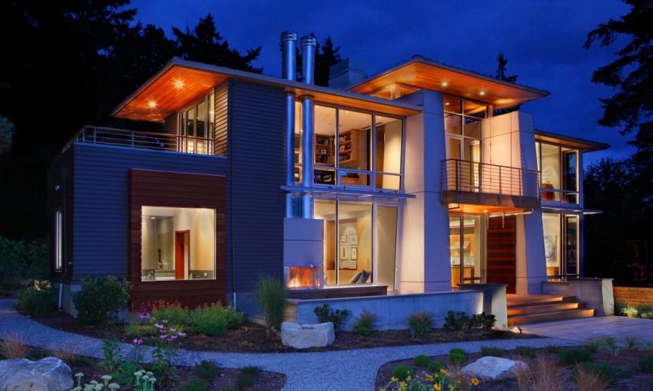 Decoarq arquitectura decorativa for Casas modernas en washington