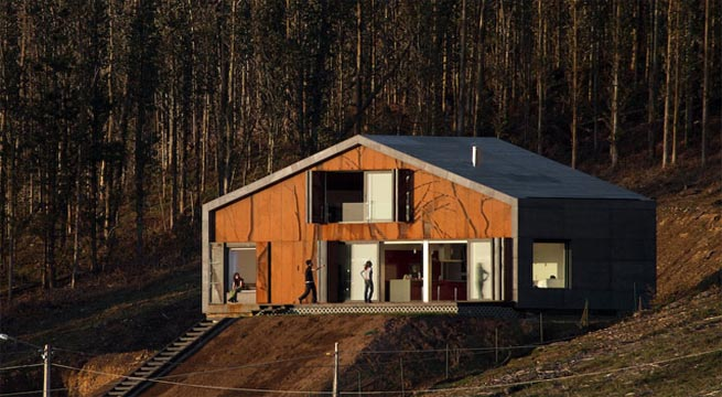 Decoarq arquitectura decorativa - Casa madera galicia ...