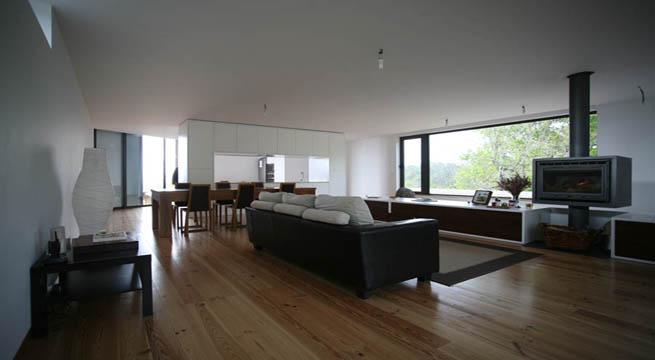 Vivienda de hormigon y madera en portugal - Viviendas de hormigon ...