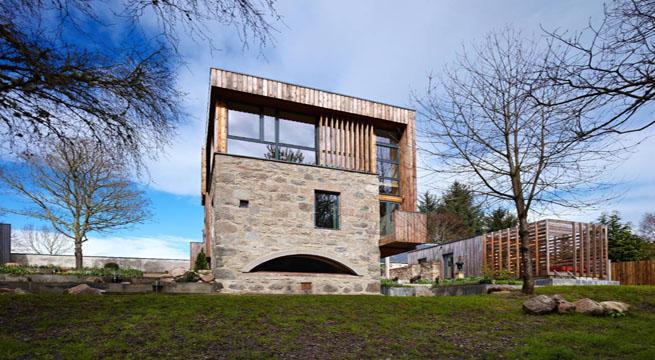Decoarq arquitectura decorativa Casa rural moderna