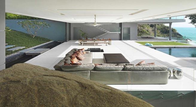 Impresionante mansi n en un acantilado - Ver casas de lujo ...
