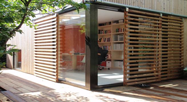 Casa de invitados en el jardin for Casas en la jardin balbuena