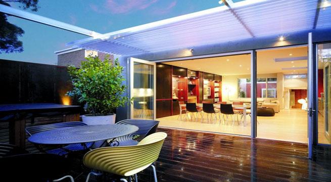 Casa con patios interiores en australia - Fotos patios interiores ...