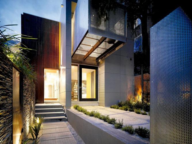 Casa Con Patios Interiores En Australia (1/8)
