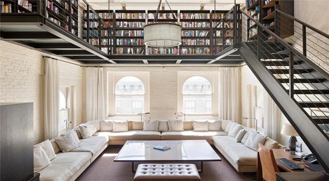 Tico de lujo con piscina for Interiores de casas de lujo