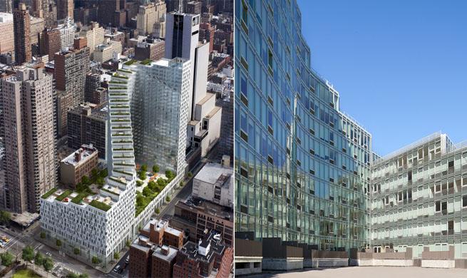 Edificio de apartamentos futurista en manhattan - Apartamentos en nueva york centro ...
