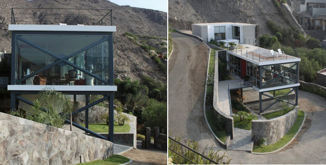 Casa a base de terrazas en lima - Terrazas de casas segundo piso ...