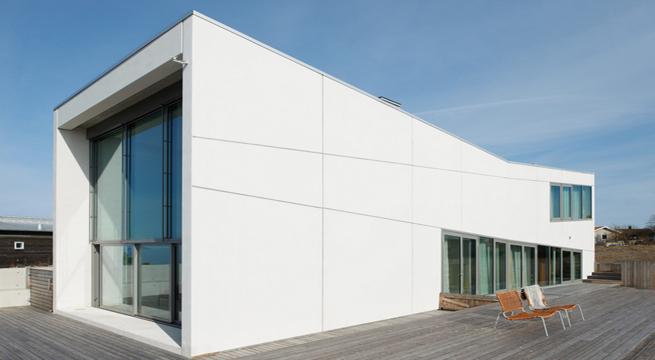 Villa windlund casa minimalista en suecia for Casa minimalista concepto