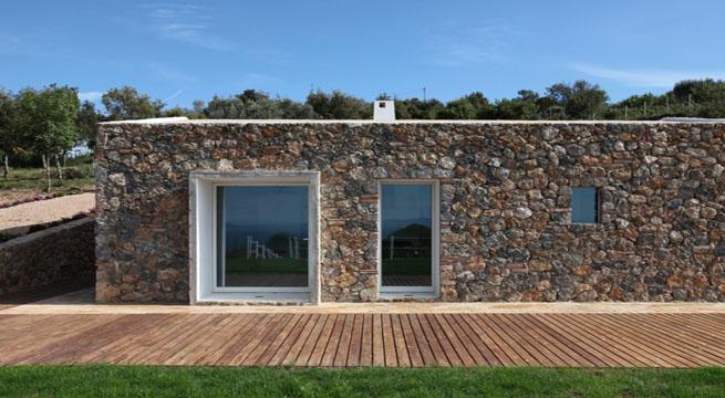 Peque a casa de piedra en la toscana - Casas prefabricadas de piedra ...