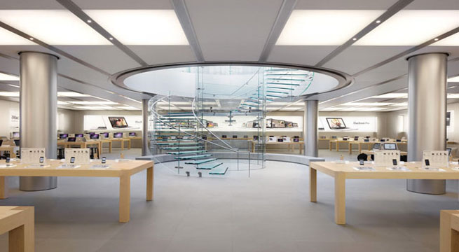 Decoarq arquitectura decorativa for Oficinas de apple