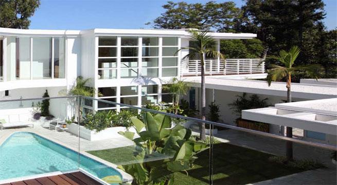 Casas de lujos modernas for Mansiones lujosas modernas