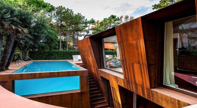 Decoarq arquitectura decorativa for Acero corten perforado oxidado