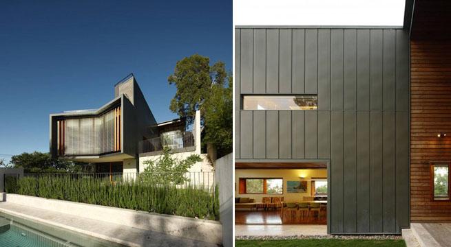 Decoarq arquitectura decorativa for Revestimiento exterior zinc