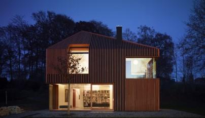 Peque a vivienda prefabricada en m nich - Casas prefabricadas alemania ...