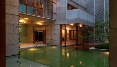 Decoarq arquitectura decorativa - Casa rural piscina climatizada interior ...