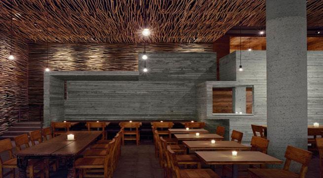 Decoarq arquitectura decorativa for Restaurante arquitectura