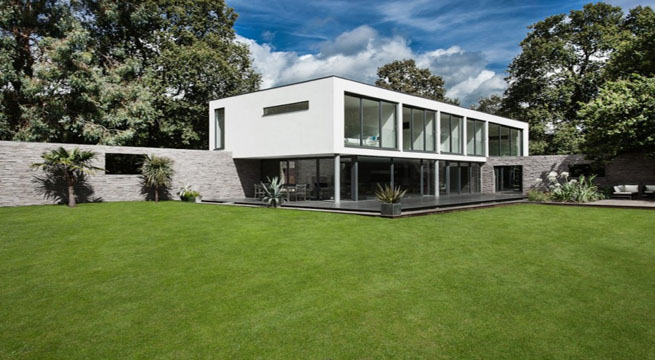Decoarq arquitectura decorativa for Casa minimalista concepto