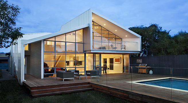 Casa resort bower architecture casa contemporanea for Casa de lujo minimalista y espectacular con piscina por a cero