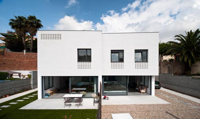 Decoarq arquitectura decorativa for Casa moderna maqueta