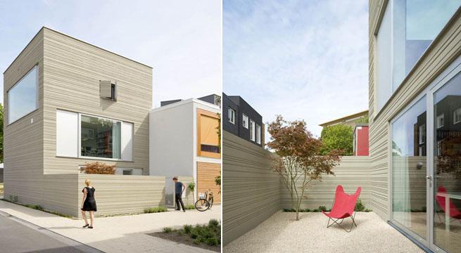 Decoarq arquitectura decorativa for Fachadas oficinas minimalistas