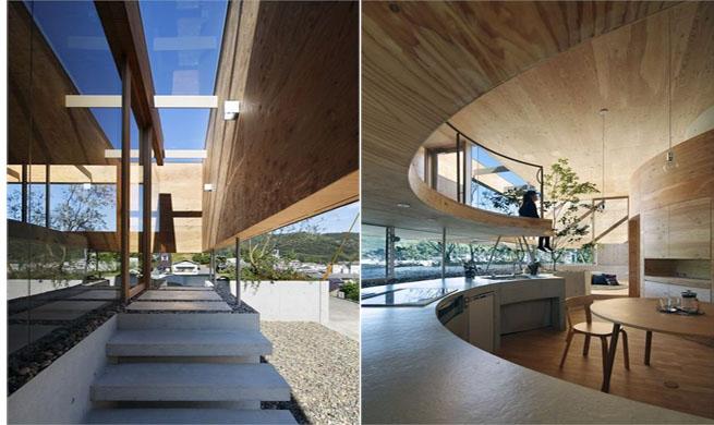 Casa minimalista y zen en jap n for Casas modernas estilo zen
