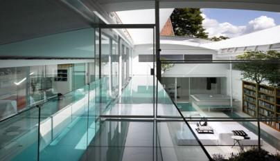 Decoarq arquitectura decorativa for Alberca cristal londres