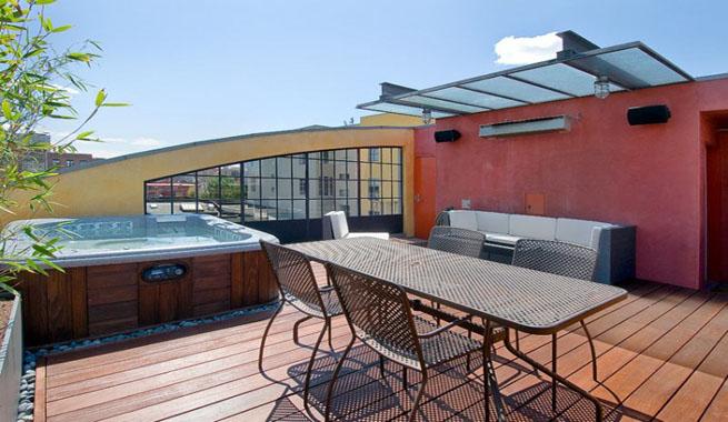 Decoarq arquitectura decorativa for Jacuzzi exterior terraza