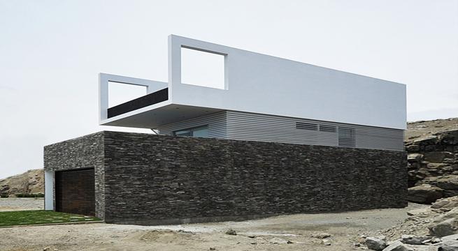 Casa de lujo minimalista en la playa for Casa de lujo minimalista y espectacular con piscina por a cero