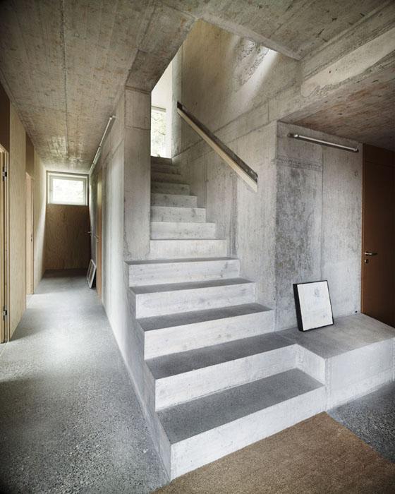 escaleras de cemento para interiores