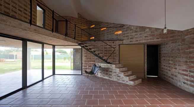 Decoarq arquitectura decorativa for Casas de ladrillo rustico
