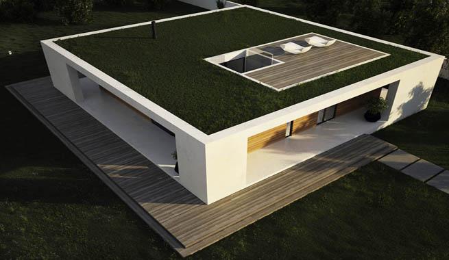 Decoarq arquitectura decorativa for Planos de casas de una sola planta