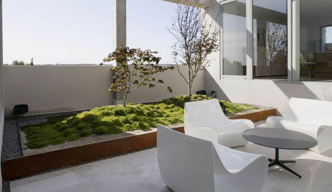 Decoarq arquitectura decorativa for Casa con terraza madrid