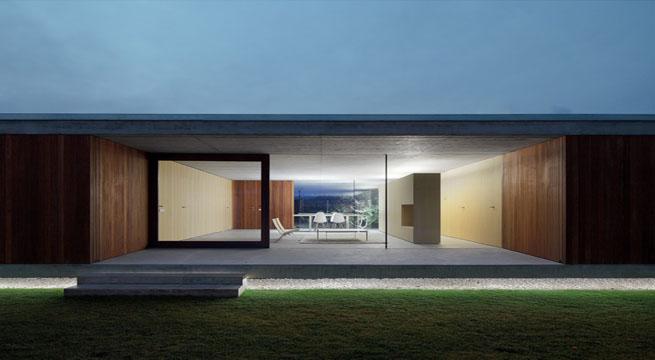 Fant stica casa de una planta en burgos - Casa minimalista una planta ...