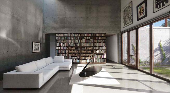 Vivienda de cemento y madera - Casas de madera y cemento ...