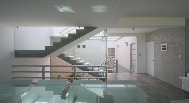 escaleras de casas de lujo
