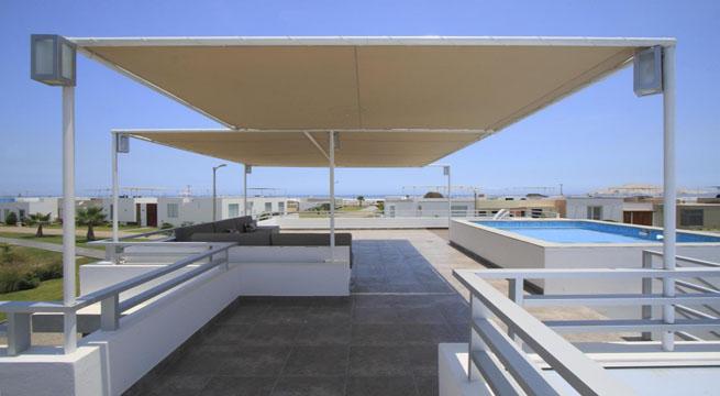 Casas con terraza y vistas al mar for Viviendas para terrazas