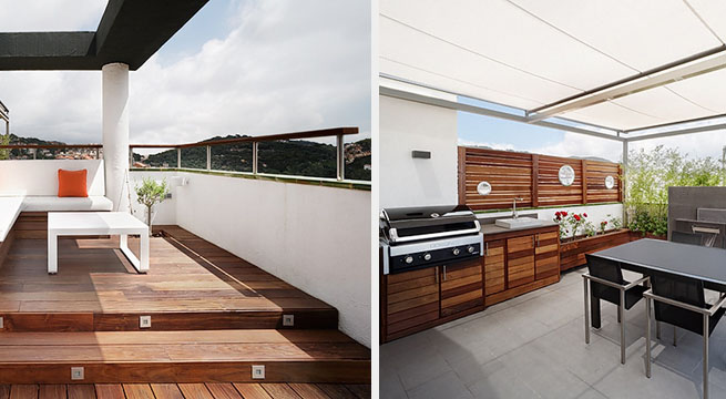 Decoarq arquitectura decorativa - Atico terraza barcelona ...