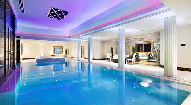 La mansi n m s cara de londres for Hotel habitacion con piscina