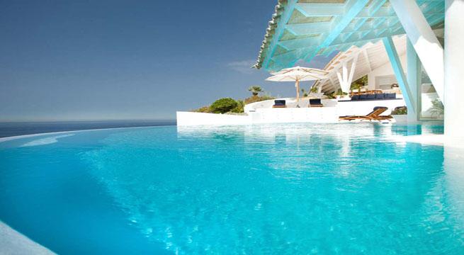 Decoarq arquitectura decorativa - Casa de verano con piscina ...
