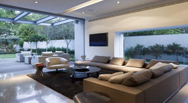 Decoarq arquitectura decorativa for Casa minimalista cristal