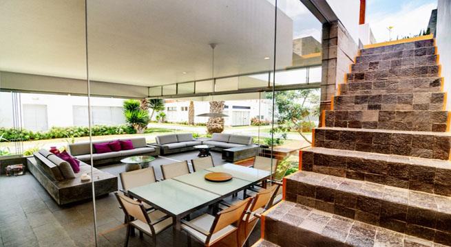 Casa en per con terraza en la azotea - Jardines en la terraza ...