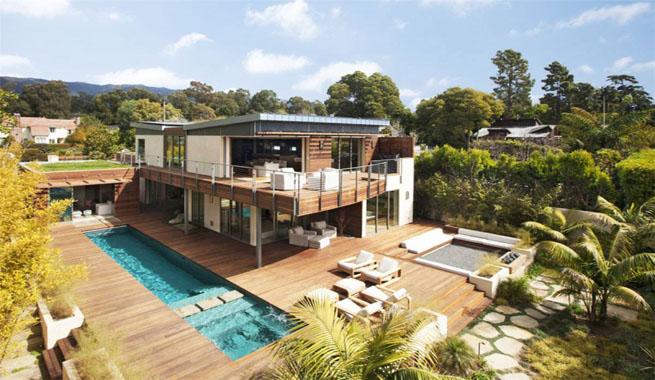 Decoarq arquitectura decorativa - Jardines de casas de lujo ...