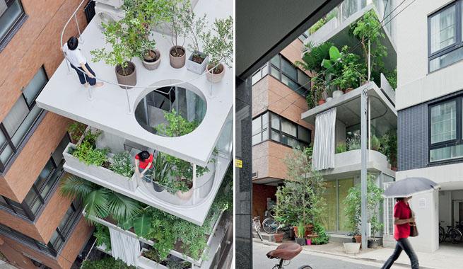 Residencia invernadero en varias alturas - Invernadero para casa ...