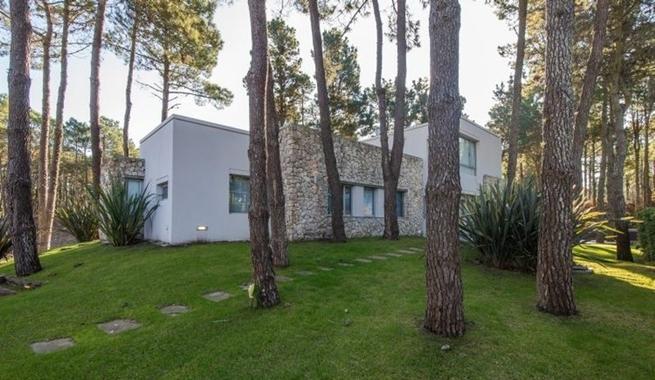 Casa en medio del bosque respetando los pinos - Casa los pinos ...