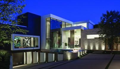 Decoarq arquitectura decorativa for Casas modernas los angeles