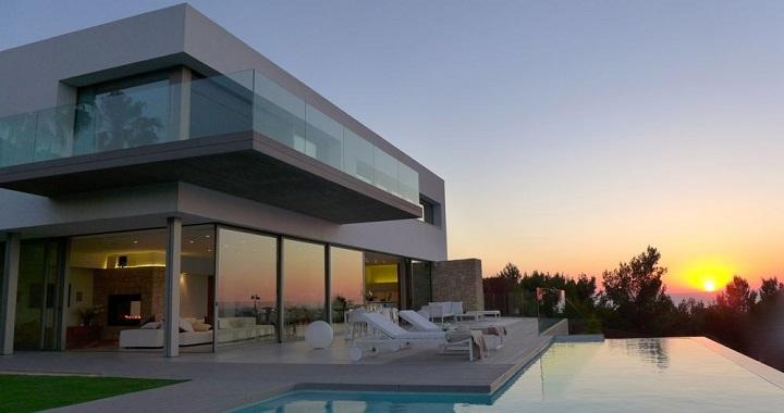 Decoarq arquitectura decorativa - Chalet con piscina ...