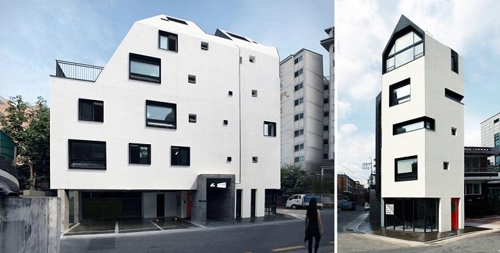Decoarq arquitectura decorativa - Edificios minimalistas ...