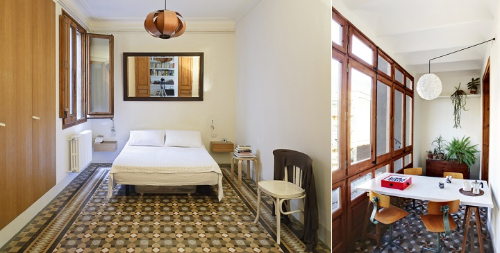 Remodelaci n de un piso en el eixample de barcelona for Remodelar piso antiguo