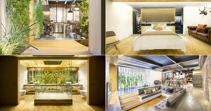 Bajo comercial convertido en loft en terrassa - Loft en terrassa ...